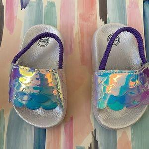 Infant size 4c cute mermaid sandals